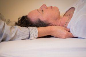 Triggerpunkte befinden sich häufig im Schulterbereich.